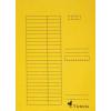 VICTORIA Gyorsfűző, karton, A4, VICTORIA, sárga