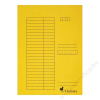 VICTORIA Gyorsfűző, karton, A4, VICTORIA, sárga (IDPGY02)