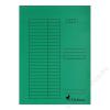 VICTORIA Gyorsfűző, karton, A4, VICTORIA, zöld (IDPGY03)