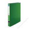 VICTORIA Gyűrűs dosszié, 2 gyűrű, 35 mm, A4, PP/karton, VICTORIA, zöld (IDVGY04)