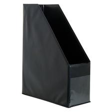 VICTORIA Iratpapucs, PVC, 95 mm, VICTORIA, fekete irattartó