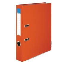 """VICTORIA Iratrendező, 50 mm, A4, PP/karton, élvédő sínnel, VICTORIA, """"Basic"""", narancs irattartó"""