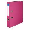 VICTORIA Iratrendező, 50 mm, A4, PP/karton, élvédő sínnel, VICTORIA, Basic, rózsaszín (IDI50R)