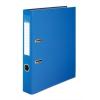 VICTORIA Iratrendező, 50 mm, A4, PP/karton, élvédő sínnel, VICTORIA, kék
