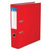 """VICTORIA Iratrendező, 75 mm, A4, PP/karton, élvédő sínnel, , """"Basic"""", piros"""