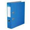 VICTORIA Iratrendező, 75 mm, A4, PP/karton, élvédő sínnel, VICTORIA, Basic, kék