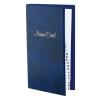 VICTORIA Névjegytartó, 128 db-os, gyűrűs, VICTORIA, márvány kék