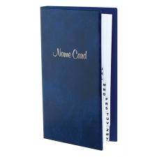 VICTORIA Névjegytartó, 128 db-os, gyűrűs, VICTORIA, márvány kék hegesztés