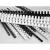 VICTORIA Spirál, műanyag, 10 mm, 41-55 lap, VICTORIA, fekete [100 db]