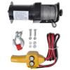 vidaXL 12 V Elektromos Csörlő 907 KG Vezetékes Távirányító