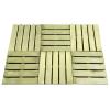 vidaXL 18 db zöld FSC fa burkolólap 50 x 50 cm