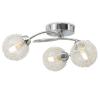 vidaXL 3 db 120 W-os G9 LED izzó mennyezeti lámpához