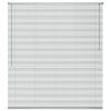 vidaXL ablakredőny alumínium 100x160 cm ezüst