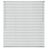 vidaXL ablakredőny alumínium 160x160 cm ezüst