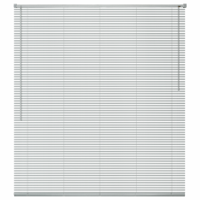 vidaXL ablakredőny alumínium 160x160 cm ezüst redőny