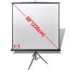 vidaXL al Projection Screen with Height Adjust