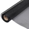 vidaXL Alumínium Háló Szúnyogháló Ajtóra / Ablakra 100 x 1000 cm Fekete