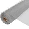 vidaXL Alumínium Háló Szúnyogháló Ajtóra / Ablakra 100 x 500 cm Ezüst
