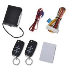 vidaXL Autó központi zár készlet univerzális 2 távirányítók VW Skoda Audi autójavító eszköz