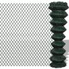vidaXL Drótkerítés 1,5 x 25 m Zöld