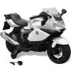 vidaXL Elektromos BMW 283 gyerek motorkerékpár 6 V fehér