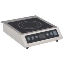 vidaXL elektromos indukciós asztali főzőlap érintőképernyővel 3500 W konyhai eszköz