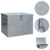 vidaXL ezüstszínű alumíniumdoboz 610 x 430 x 455 mm