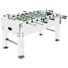 vidaXL fehér acél csocsóasztal 60 kg 140 x 74,5 x 87,5 cm