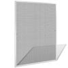 vidaXL Fehér szúnyogháló ablakra 100 x 120 cm