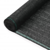 vidaXL fekete HDPE teniszháló 1,4 x 25 m