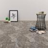 vidaXL fekete márvány öntapadó PVC padló burkolólap 5,11 m²