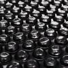 vidaXL Fekete polietilén medencetakaró 250 cm