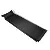 vidaXL Gumimatrac 10 x 66 220 cm Fekete