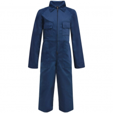 vidaXL Gyermek szerelőruha kék 158/164-es méret
