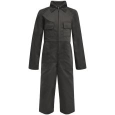 vidaXL Gyermek szerelőruha szürke 134/140-es méret