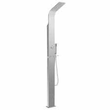 vidaXL ívelt rozsdamentes acél zuhanypanel rendszer fürdőszoba kiegészítő