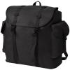 vidaXL Katona stílusú fekete 40 L hátizsák