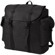 vidaXL Katona stílusú fekete 40 L hátizsák hátizsák