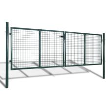 vidaXL Kerti hálórácsos kerítéskapu 289 x 75 cm / 306 125 építőanyag