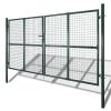 vidaXL Kerti hálós kapu kerítés ajtó fali rács 289 x 175 cm / 306 225