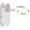 vidaXL LED falilámpa 1 meleg, fehér fényforrással