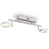 vidaXL LED falilámpa 2 meleg, fehér fényforrással
