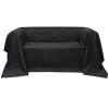 vidaXL Mikro szálas kanapé terítő / védőhuzat 210 x 280 cm antracit szín