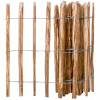 vidaXL mogyorófavessző kerítés 90 x 500 cm