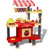 vidaXL Nagy gyerek játék konyha