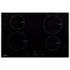 vidaXL négyégős érintőpaneles üveg indukciós főzőlap 77 cm 7000 W