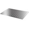 vidaXL Rozsdamentes acél zuhanyrózsa 20x30 cm téglalap alakú