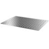 vidaXL Rozsdamentes acél zuhanyrózsa 30x40 cm téglalap alakú
