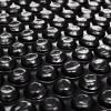 vidaXL Téglalap alakú Fekete PE Medence-takaró 6x4 m