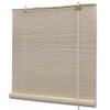 vidaXL természetes színű bambuszroló 140 x 220 cm